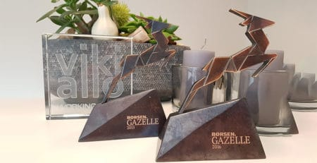 Gazelle og AAA til vikiallo