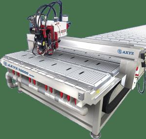 AXYZ CNC fræser 10000 serie