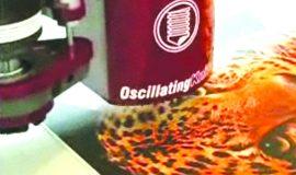 AXYZ cnc med oscillerende kniv