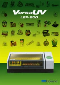 Roland LEF-200 brochure