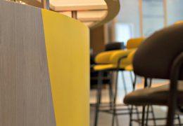 Designfolie til hotel - fornyelse af bar