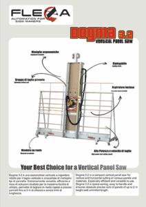 Vertikal pladesav - brochure
