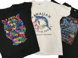 tekstilprint t-shirts