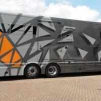 MACtac 9300 på lastbil