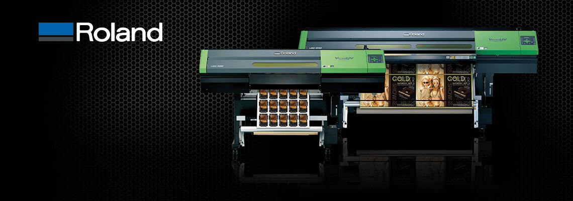 Roland LEC uv printer