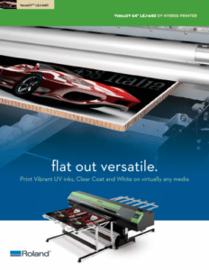 Roland LED-640 brochure