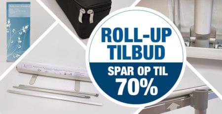 Roll-Up tilbud - Spar op til 70%