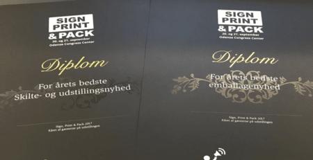 Sign Print Pack - diplomer for årets bedste