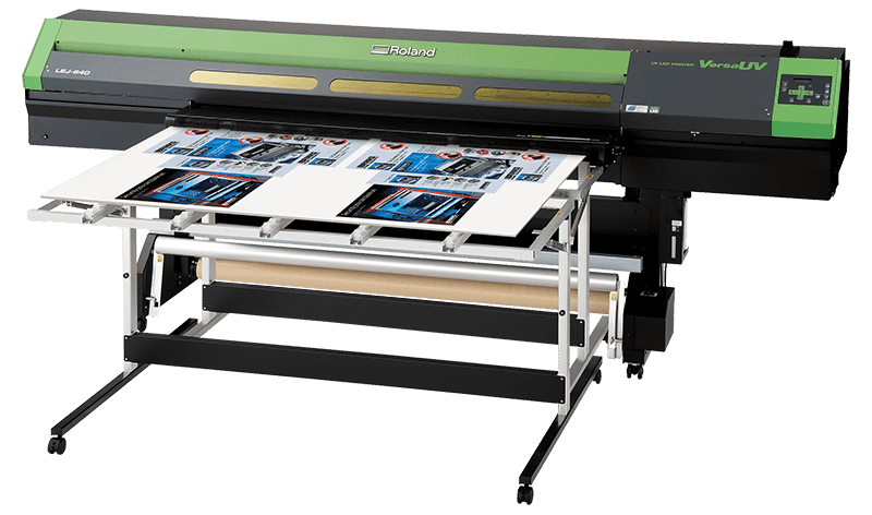 Roland LEJ-640 UV printer