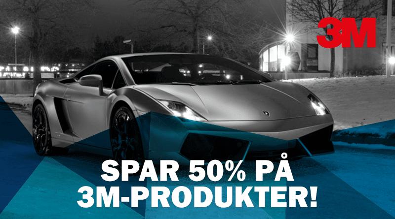 Svært UDSALG: Spar 50% på forskellige produkter fra 3M   vikiallo PC-92