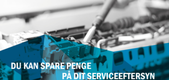 spar penge serviceabonnement
