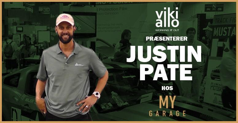 Mød Justin Pate til arrangement med vikiallo hos My Garage i Vejle